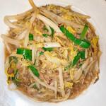 上海料理 寒舎 - 白菜と春雨の辛味炒め