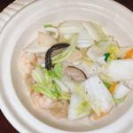 上海料理 寒舎 - 海鮮土鍋ご飯