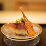 道人 - 鬼鯵の棒寿司と半生バチコ