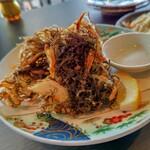 ちんぼーら - 料理写真:もずくの天ぷら( 〃▽〃)
