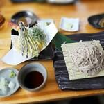 吉盛 - 天もりそば1500円