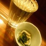 ぼんそわ - 日本酒とお通し