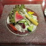 15628413 - 朝採れ野菜のサラダ