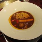 15628419 - カツオ出汁とお野菜のハヤシライス