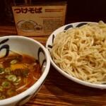 麺鮮醤油房 周月 - 辛味噌つけそば(大:麺量400g)¥880