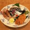 肴や味泉 - 料理写真:雲丹、ぼたん海老、〆鯖  (2012/11)
