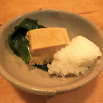 肴や味泉 - 豆富のみそ漬け (2012/11)