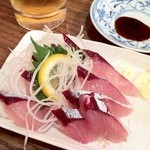 魚田 - 鯖の刺身