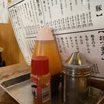ホルモン鶴松 - タレに一味