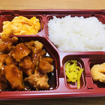 聚香園 - 油淋鶏弁当