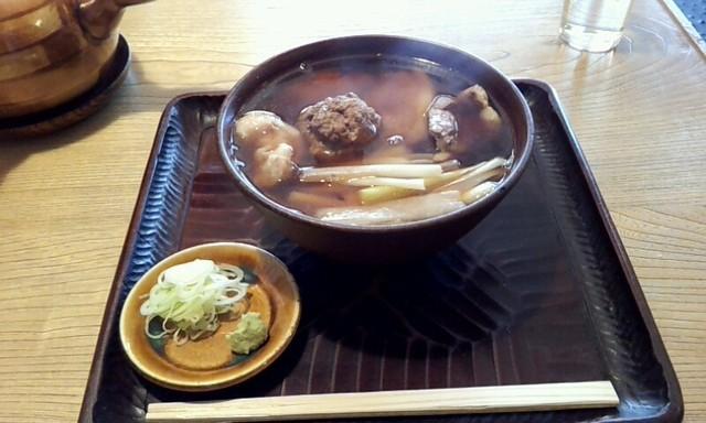 並木藪蕎麦 - 2012,11月の鴨なんばん