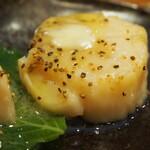 錦 - ホタテ バター焼き
