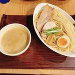 156306558 - 鶏白湯魚介つけ麺です。(2021.8 byジプシーくん)