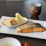 日本料理 新樹 - 料理写真:銀鮭。