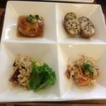 楓 Fu - お惣菜4品