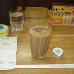 カレーハウス CoCo壱番屋 - アイスカフェオレ +100円