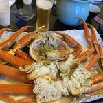 海食空間 かに乃花 - 料理写真:茹でたての越前蟹