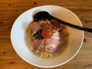 麺場 浜虎 - トマト冷やし肉まし1100円