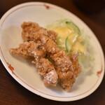 杉本 - 料理写真:鳥定食(1,300円)の『唐揚げ』2021年8月