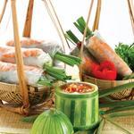 ゴイクォン(生春巻きと海老と豚肉入り)2本