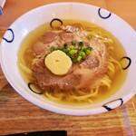 島豆腐と、おそば。真打田仲そば - おそばも美味しい( *´艸)