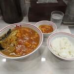 蒙古タンメン中本 - 蒙古タンメン+定食