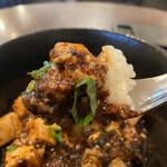 中国酒家 大天門 - 麻婆豆腐とご飯