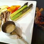 熊屋 - 旬の野菜、鉄板焼き