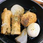 朝どれ鮮魚と和ノ個室 白石 - 静岡おでん・・?