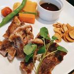 バーリィ - 猪豚のステーキ