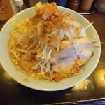 立川マシマシ - 小ラーメン、野菜並