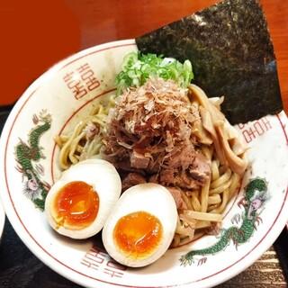 煮干中華 あさり - 料理写真:煮干の油そば 730円