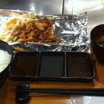 15637366 - 肉丸定食