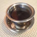 南インド家庭料理 カルナータカー - コーヒー