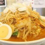 旨辛タンメン ファイヤーマウンテン - 炒め野菜