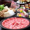 二段家 - 料理写真:鍋や天麩羅と贅の限りを尽くした『特製すき焼きコース』