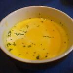 融合料理 まごころ - かぼちゃのスープ (単品だと300円)