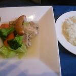 融合料理 まごころ - お肉ランチ(庄内豚のポトフ) 1300円