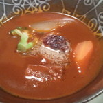 おた里の湯 彩の庄 - 料理写真:温物の牛タンのシチュー