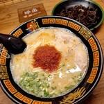 一蘭 - ラーメン+きくらげ 1100円