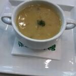 15640383 - スープ 野菜のサフラン風味