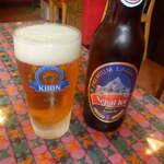 ロイヤル ナン カレー - まずはビール