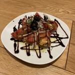 カスターニエ 軽井沢ローストチキン - アメーラトマト。