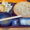 生粋手打蕎麦 市川 - 料理写真:海老天ざる蕎麦 1840円