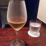 ラ メゾン ドゥ ラ ナチュール ゴウ - ドリンク写真:ノンアルスパークリングで初訪問に乾杯。