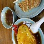 大蔵飯店 - 天津飯と餃子