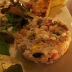 クオーレ・フォルテ - 豆とお米のサラダ