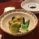 花月 - 料理写真:ランチ前菜一部