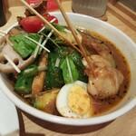 北海道スープカレー Suage - 野菜カレー&トッピング知床鳥
