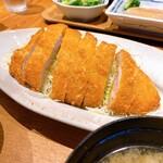 YAMAGATA おさけとおりょうり DAEDOKO - 米沢豚一番育ちのロースカツ